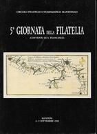 5a GIORNATA DELLA FILATELIA - MANTOVA 09 SETTEMBRE 1990 - NUOVO - Mostre Filateliche