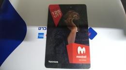 Angola-movicel-(48)-(taco125-125utt)-used+1card Prepiad Free - Angola