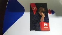 Angola-movicel-(49)-(taco125-125utt)-used+1card Prepiad Free - Angola