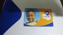 Angola-unitel-(50)-20.4.2007-(125utt)-used+1card Prepiad Free - Angola