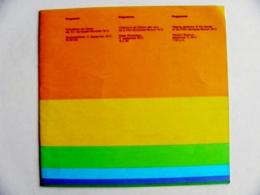 Programm Olympic Games Munich 1972 Programme - Programmes