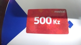 Angola-moviel-(56)-28.4.2020-(500kz-69utt)-used+1card Prepiad Free - Angola