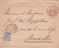Entier Postal Lettre Autrichien - 1895 - Entiers Postaux