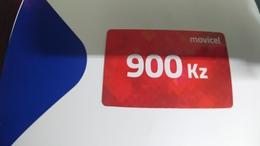 Angola-moviel-(58)-19.08.2020-(900kz-125utt)-used+1card Prepiad Free - Angola