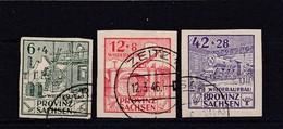 SBZ Nr 87/89 B, Gest. (T 1420) - Sowjetische Zone (SBZ)