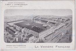 Origny-en-Thiérache (Aisne) - La Vannerie Française - Anciens Etablissements Tirot Et Larmuzaux - Frankrijk
