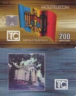 TARJETA TELEFONICA DE MOLDAVIA. 09.95 TIRADA 20000 (001) - Moldova