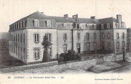 C P A [56] Morbihan > Gourin LE PENSIONNAT SAINT YVES CARTE LL - Gourin