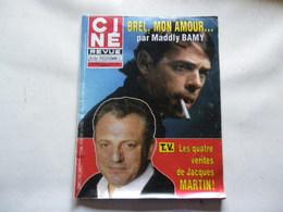 JACQUES BREL, JACQUES MARTIN VOIR PHOTO ANCIEN MAGAZINE REGARDEZ MES VENTES ! J'EN AI D'AUTRES - Magazines: Subscriptions