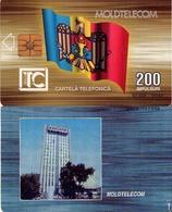TARJETA TELEFONICA DE MOLDAVIA. 12.97 TIRADA 52500 (002) - Moldova