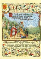 Histoire De L'Andorre. Charlemagne Remet La Charte De Fondation De L'Andorre.  (scan Verso) - Andorre