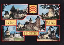 Carte 1960 MANOIRS ET PRIEURES DU PERCHE BOISSY MAUGIS,LA MOUSTIERE,AMILLY,LA LUBINIERE / MULTIVUES - France
