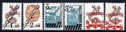 KAZAKHSTAN 1992-93 Surcharges Set Of 6 MNH / ** - Kazakhstan