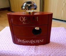 """Ancien Flacon """"Opium"""" De YVES ST LAURENT 120 Ml Remplissable Vide Pour Collection - Bottles (empty)"""
