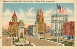 SYRACUSE       CLINTON SQUARE    STATE TOWER BUILDING - Syracuse