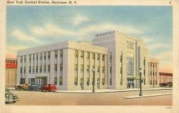 SYRACUSE      NEW YORK CENTRAL STATION - Syracuse