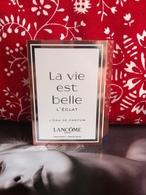 Lancôme - La Vie Est Belle L'éclat - échantillon - Perfume Samples (testers)