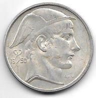 *belguim  50 Francs 1950  Dutch - 1945-1951: Régence
