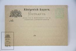 Königreich Bayern - Postal Stationary - Kingdom Of Bavaria 3 Pfenning - Unposted - Bavaria