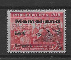 Sello De Memel  Nº Michel III-I (**). - Ocupación 1914 – 18