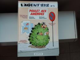 L'agent 212 (5) - Poulet Aux Amendes (réédition) - Agent 212, L'