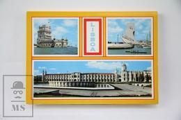 Vintage 1980's Portugal, Lisboa Postcard Folder - 10 Colour Postcards - Lisboa
