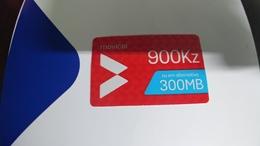 Angola-moviel-(65)-28.9.2020-(900kz-300mb-125utt)-used+1card Prepiad Free - Angola