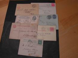 7 Alte Belege Lot Very Nice - Briefmarken