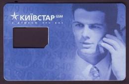 UKRAINE. KYIVSTAR GSM SIM-CARD. Frame Without Chip. Nr. 3 - Oekraïne