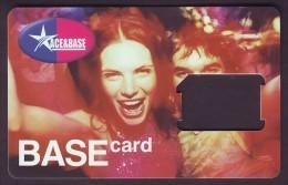 "UKRAINE. KYIVSTAR GSM ""ACE & BASE"" SIM CARD. ""BASE"" Frame Without Chip - Ukraine"