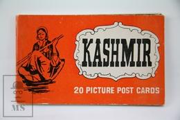 Vintage India Souvenir Postcard Folder - Kasjmir - 20 Picture Post Cards - India