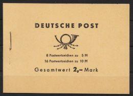 """MH 4 C 3.2 """"Ulbricht"""", Links Nicht Durchgezähnt, BZN Unten , ** - DDR"""