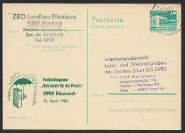 """P 84 C 112 """"Holzschutz Eisenach"""", 1985, Bedarf - DDR"""