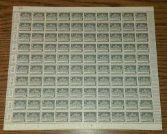 """MiNr. 140 Y, """"Brandenburger Tor"""", Kplt. Bogen Mit Druckerzeichen """"12"""" - Ungebraucht"""