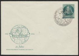 """PU 12 C 1/01 """"Freiheitsglocke"""", 1952, Pass. Sst. - Berlin (West)"""