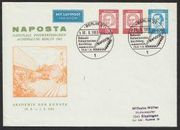 """PU 33 D 2/01 """"NAPOSTA"""", 1963, Pass. Sst. - Berlin (West)"""