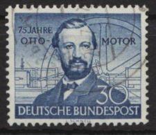 """MiNr. 150 Z """"Ottomotor"""", Seltenes Wasserzeichen, Klar Zu Sehen !, O - BRD"""