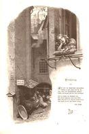Fruehling / Druck Mit Gedicht, Entnommen Aus Zeitschrift / Datum Unbekannt - Livres, BD, Revues
