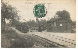 LIFFRE. La Gare Des Tramways. Tramway. - France