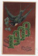 CPA - Carte Gaufrée - Année 1908 - Myosotis - - Otros