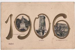 CPA - Carte  - Année 1906 - Belfort - Otros
