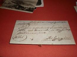 Zsombolya Haczfeld To Bega Sz Gyorgy 1864 - Romania