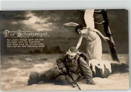 51818862 - Schutzengel Soldat WK I  Poesie - Anges
