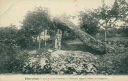 37 CHARNIZAY / Dolmen Appelé Palets De Gargantua /* - France