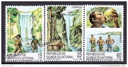Equatorial Guinea -  Guinea Ecuatorial - Guinée Équatoriale 1989 Edifil 112- 114, Tourism - MNH - Guinea Ecuatorial