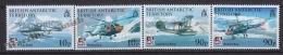 British Antarctic Territory - Antartique Britannique 2008 Yvert 488- 91, Aircraft Centenary - MNH - Territorio Antártico Británico  (BAT)