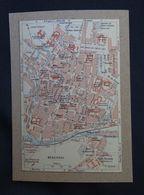 Plan Ancien De Beauvais, ( OISE ), Datant De 1920. - Cartes Géographiques