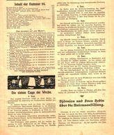 Bjönson Und Sven Hedin Ueber Die Unionsauflösung / Artikel, Entnommen Aus Zeitschrift / 1905 - Livres, BD, Revues