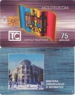 TARJETA TELEFONICA DE MOLDAVIA. 12.97 TIRADA 42500 (006) - Moldova