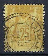 Colonie Française, Cavalle, N° 92 Oblitéré, Bureau Français à L'étranger - Oblitérés